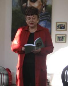 Jean Burnett reads from 'Vagabond Shoes'