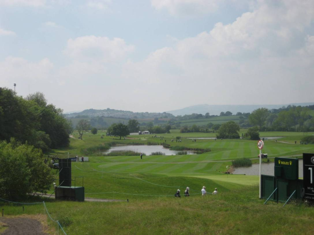 View of 2010 course