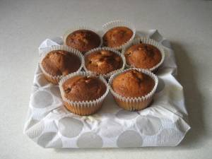 Blackberry & Coconut Muffins