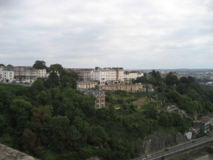 Clifton from the suspension bridge