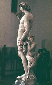 Michelangelo Bacchus, Bargello, Florence