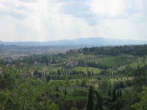 view from Settignano