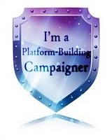 platform-building campaigner badge