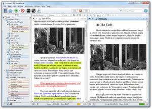 Scrivener screenshot