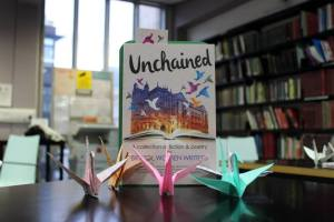 Unchained with paper birds