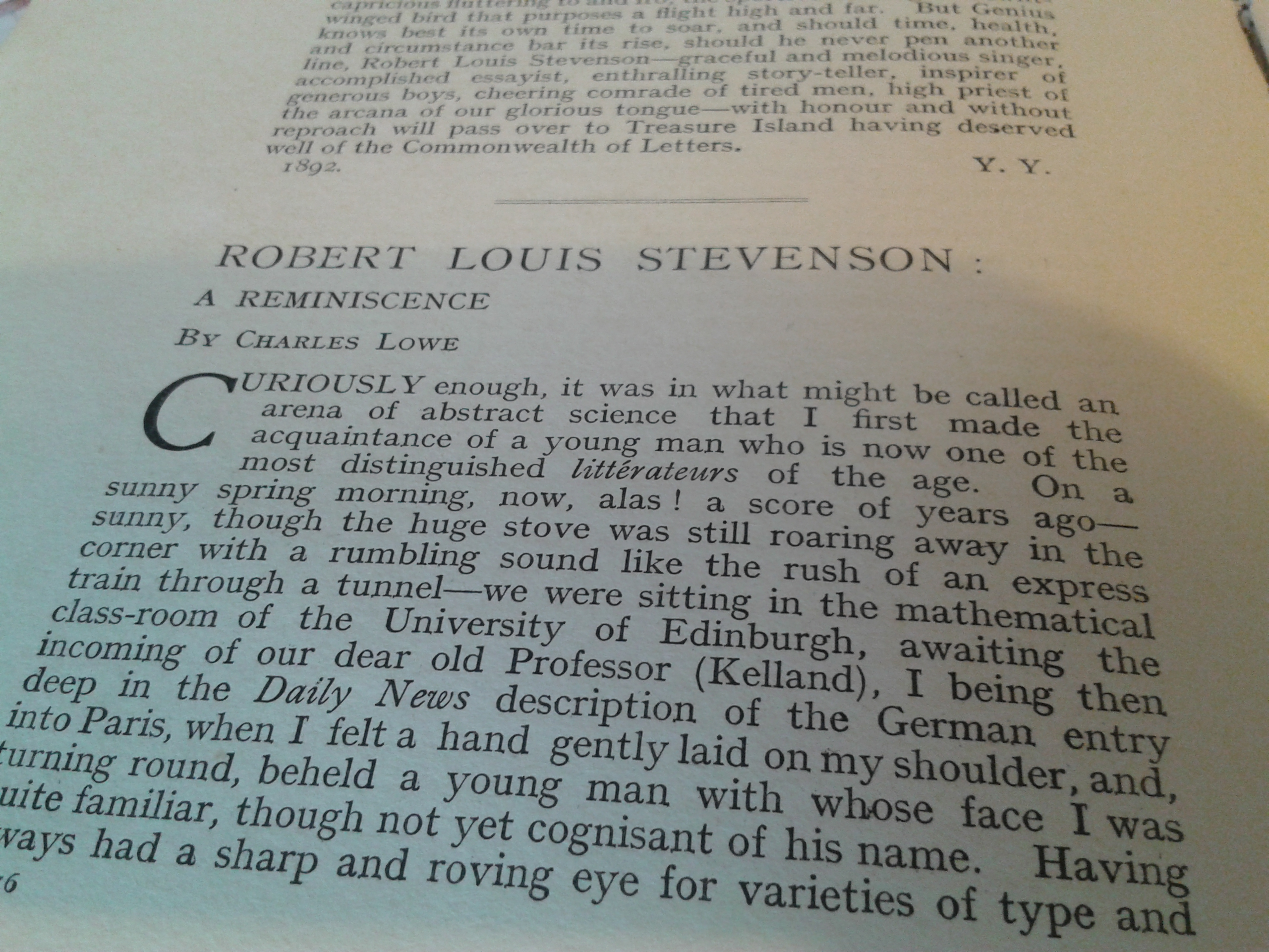 treasure essays Essays and criticism on robert louis stevenson's treasure island - critical essays.