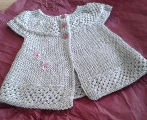 Knitting, not writing